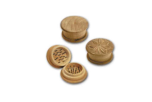 grinder drewniany młynek do ziół