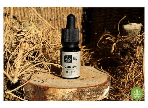 CBD 5% Olejek Wolne Konopie BIO
