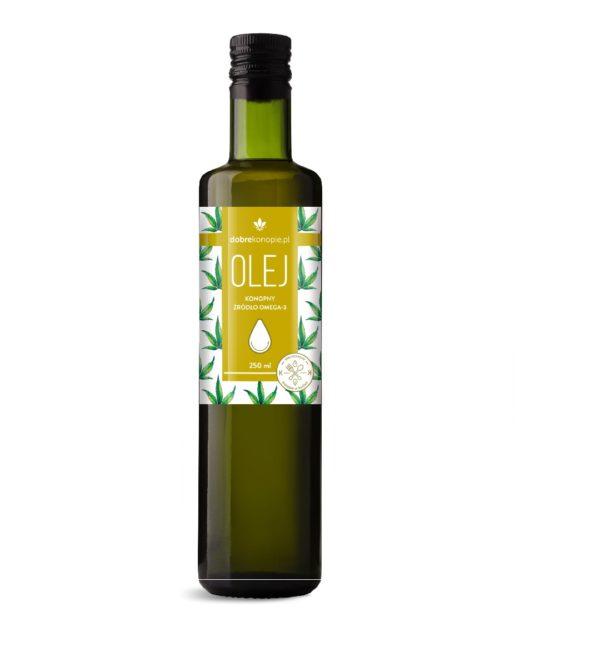 olej z konopi roślinny