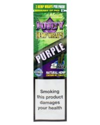 juicy hemp wraps owijka do bluntów purple juicy