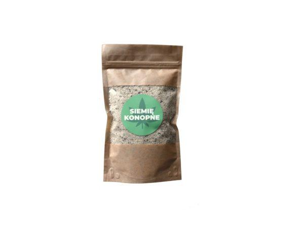 siemie konopne luskane wolne konopie nasiona ziarno
