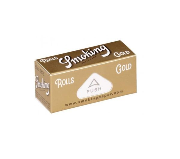 Bletki Smoking Rolls Gold niebielone