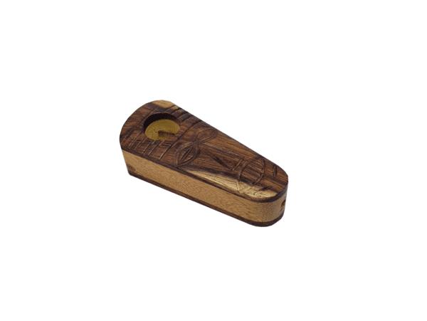 drewniana fajka szaman