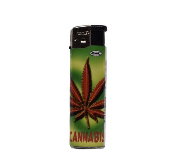 zapalniczka liść ganji cannabis zarowa lisc ganji