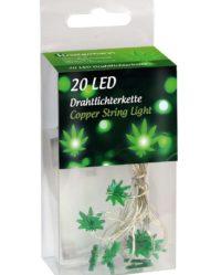 lampki led ganja konopie marihuana