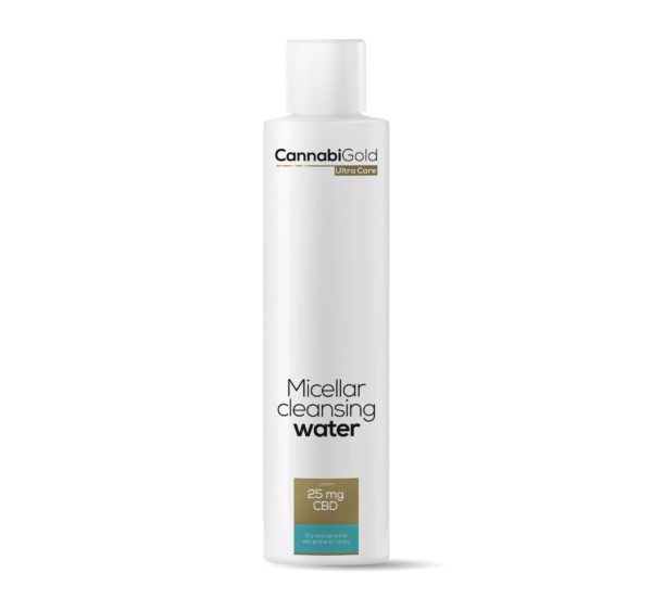 płyn micelarny skóra sucha i wrażliwa cannabigold cbd cannabidiol