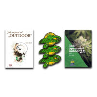 Zestaw książek jak uprawiać indoor outdoor