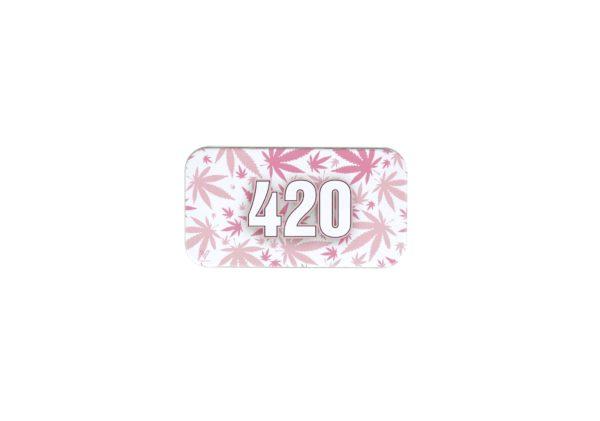 Metalowe pudełko 420 Pink