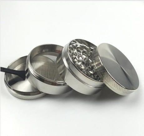 grinder metalowy 4 czesciowy komorowy