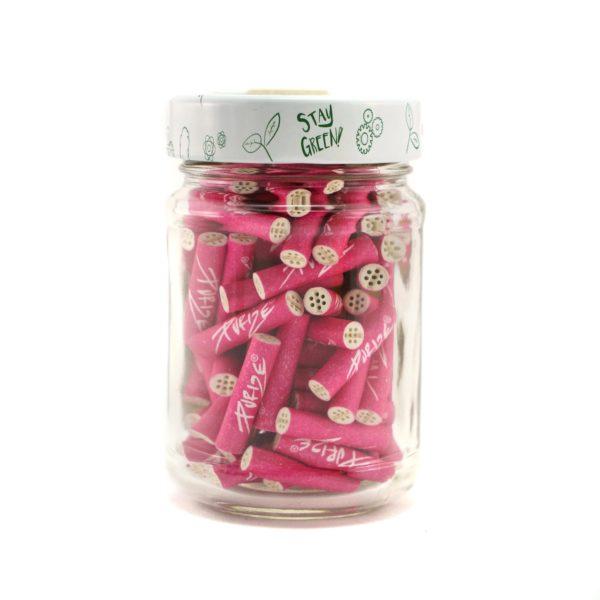 filterki purize 100szt różowe węgiel aktywny xrtra slim