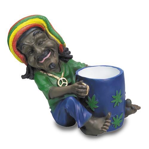 jamajka rastaman popielniczka XXL
