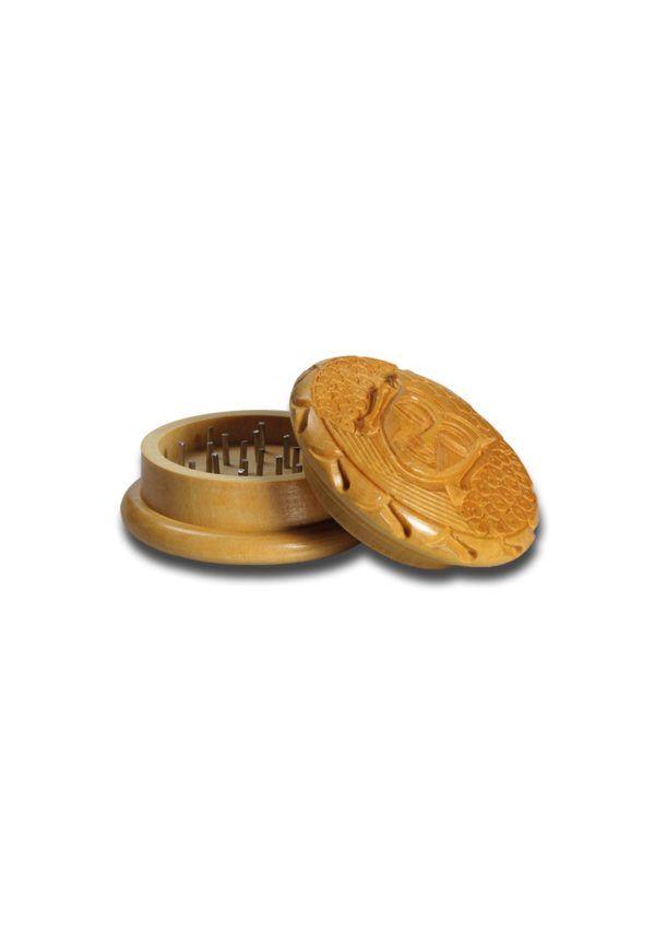 """Grinder drewniany rzeźbiony """"Budda"""""""