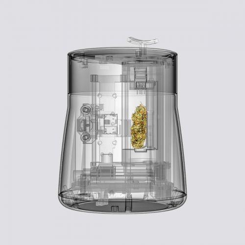 gemmacert-lite-przekrój analizera kannabinoidów maszyna