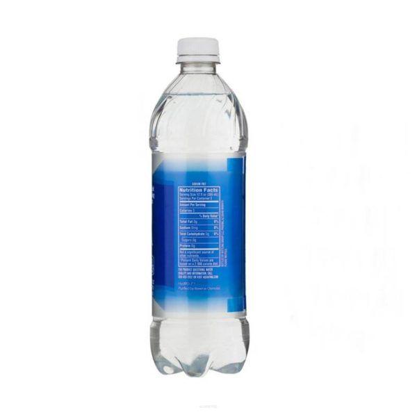 Schowek butelka wody Aquafina